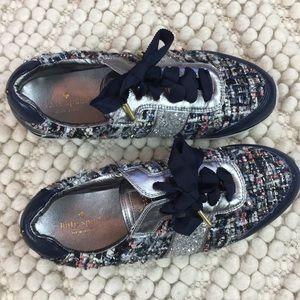 KATE SPADE tweed sneakers